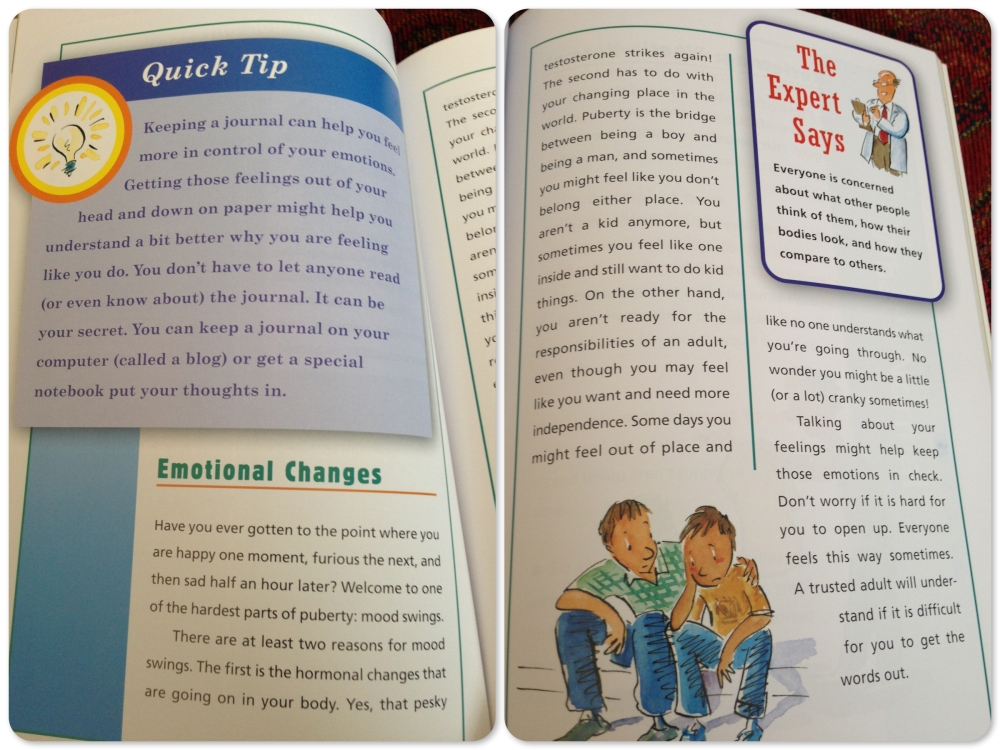 The Boy's Body Book by Kelli Dunham and Steven Bjorkman (3/3)